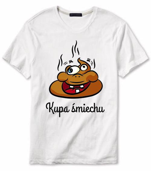 """Projekt koszulki """"Kupa śmiechu"""" - koszulka do kupienia w sklepiku"""