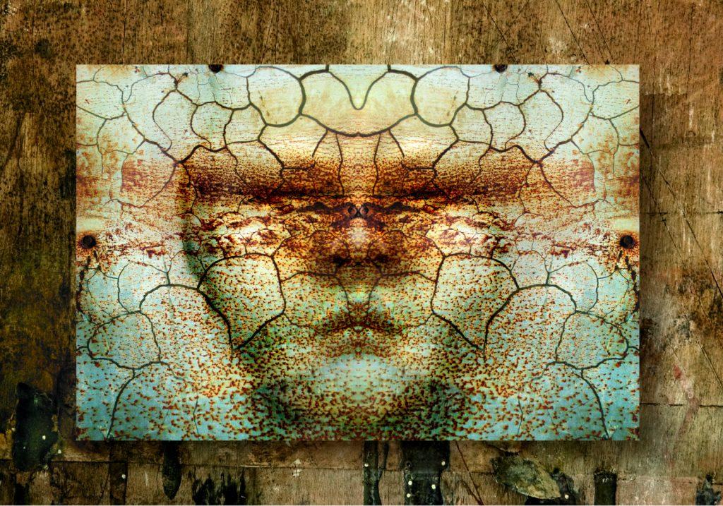 """Grafika komputerowa - """"Pensive guy"""" - obraz drukowany na płótnie"""