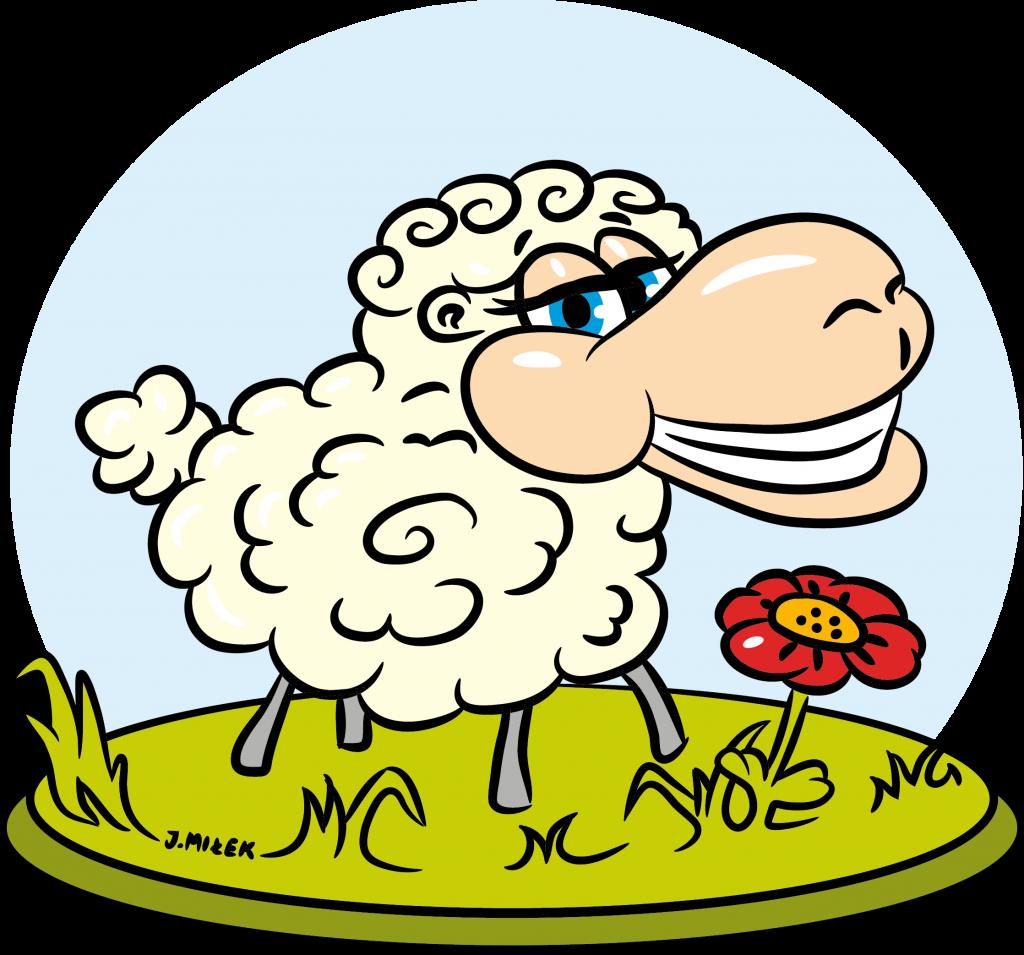 Pan jest moim Pasterzem - Ilustracja wektorowa stworzona jako grafika na kubek i koszulkę